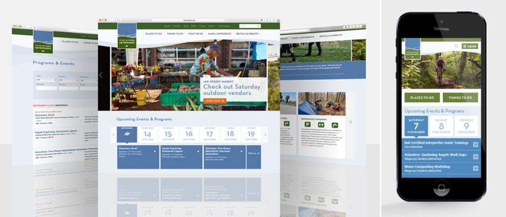 Five Rivers Metroparks Website