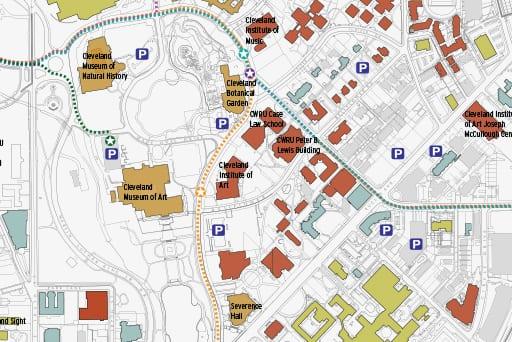 University Circle Travel Paths Study