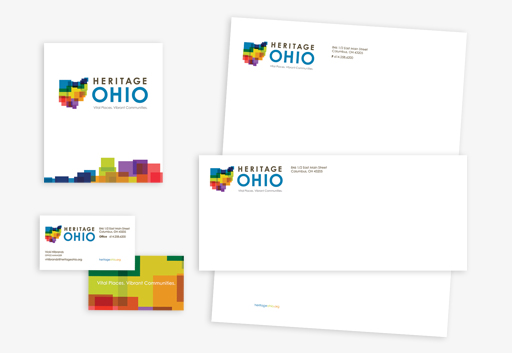 Heritage Ohio Stationery & Business Card