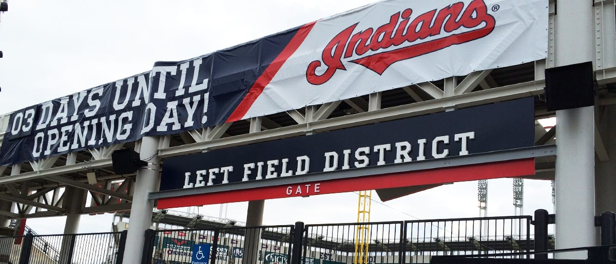Progressive Field Signage and Wayfinding