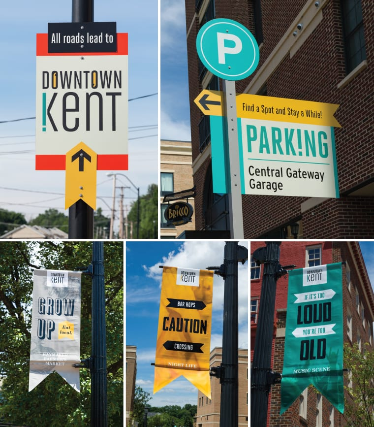 City of Kent Signage