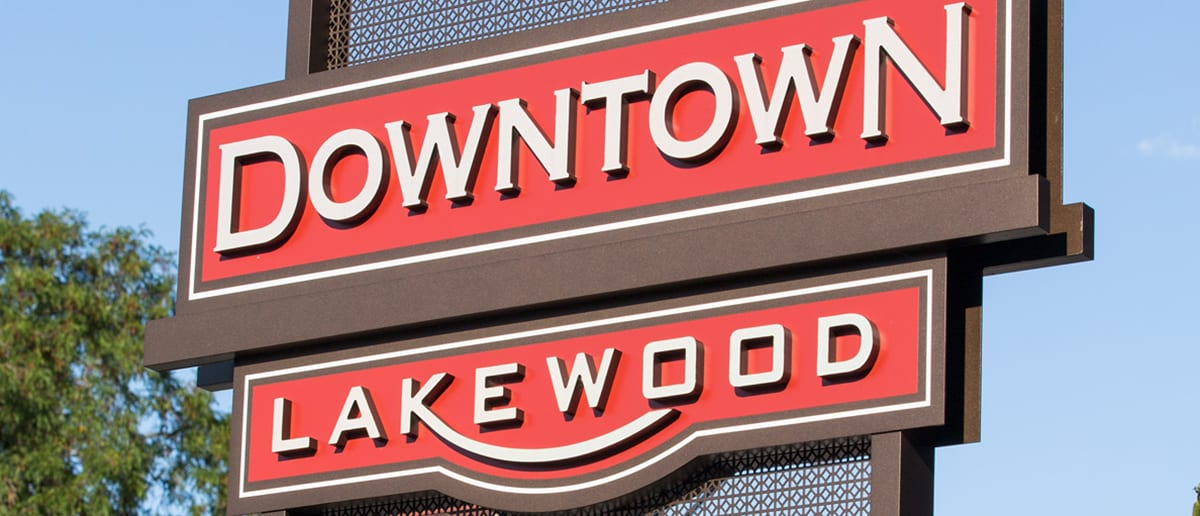 Downtown Lakewood Branding and Wayfinding