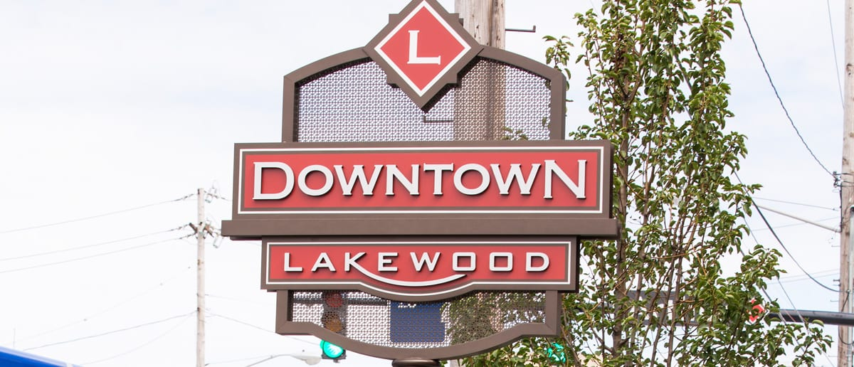 Downtown Lakewood Signage